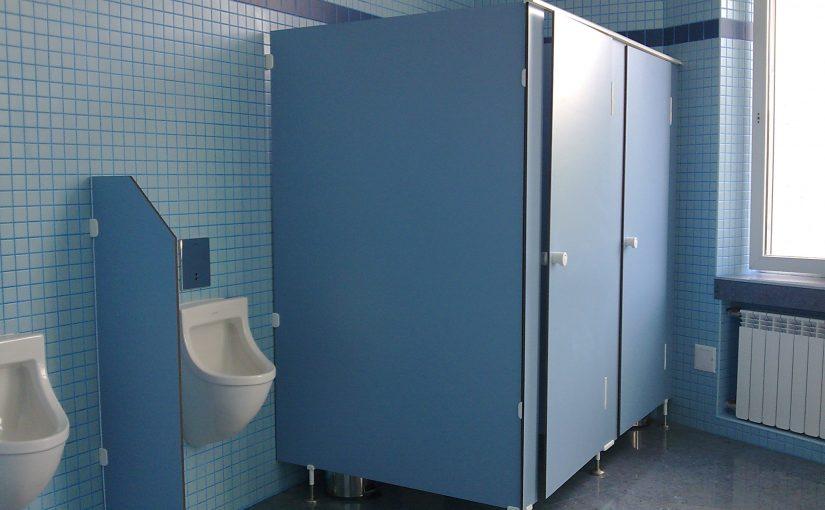 Какие сантехнические перегородки использовать для туалетов в автосалонах?